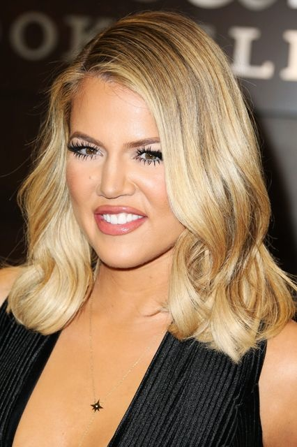Khloe Kardashian's Sleek and Polished Long Bob