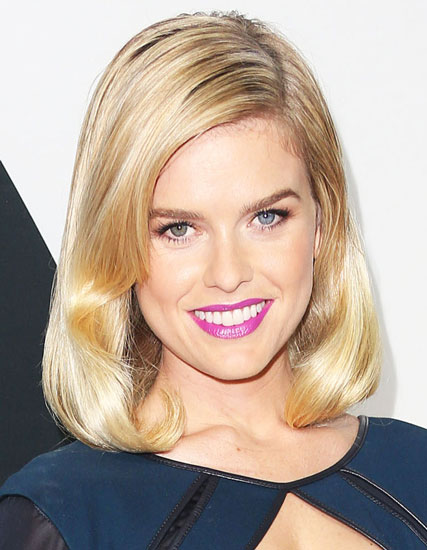 Alice Eve's Chic Retro Bob Hairstyle