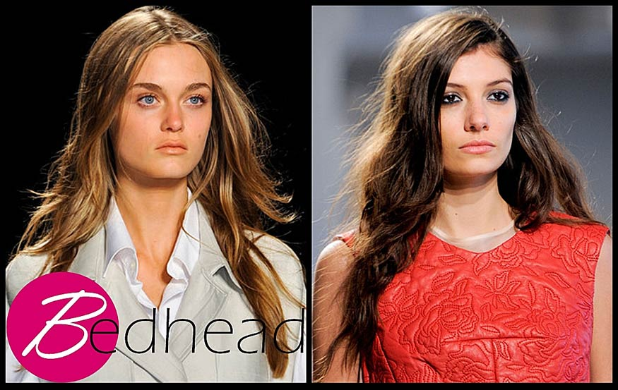 Bedhead Hairstyle for Spring 2014
