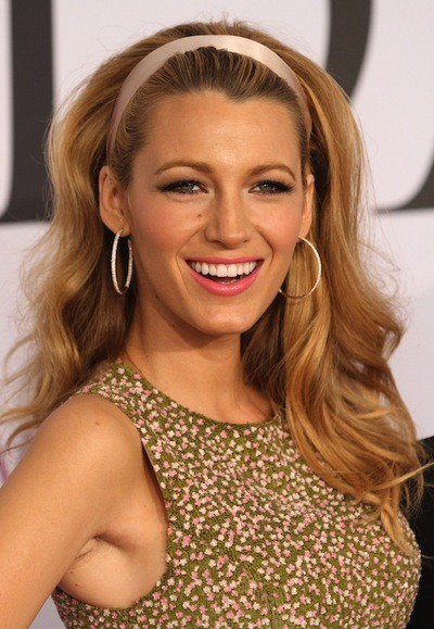 Blake Lively's Long Wavy Hair At CFDA Fashion Awards 2014