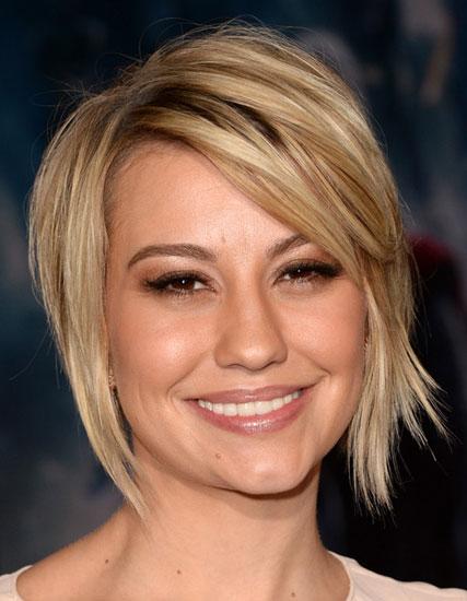 Chelsea Kane's Edgy Asymmetrical Shag Hairstyle