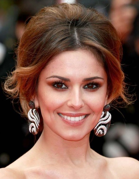 Cheryl Cole's Bouffant Updo At Cannes 2014