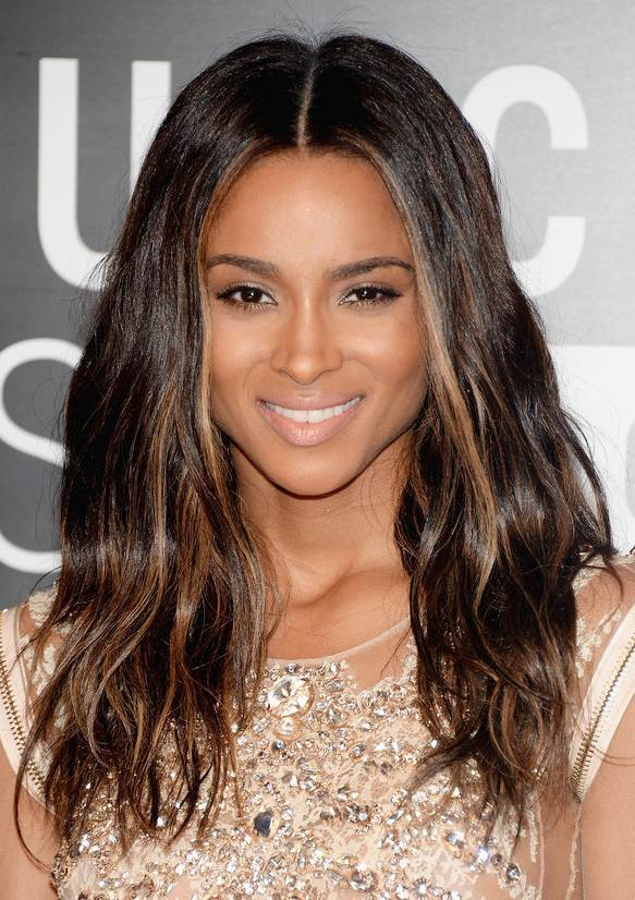 Ciara's Sexy Long Wavy Hairstyle At The 2013 Video Music Awards