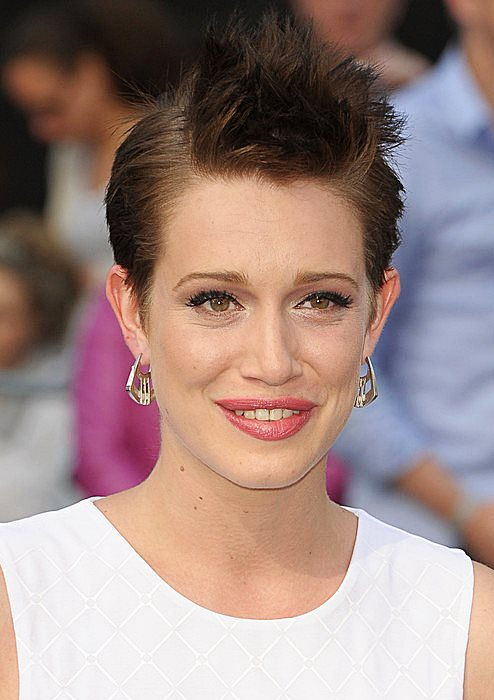Daniella Kertesz's Edgy Spiky Pixie Hairstyle