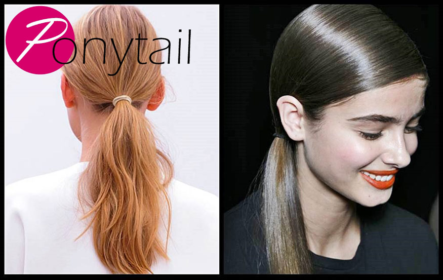 Elegant Ponytail Hairstyle for Spring 2014