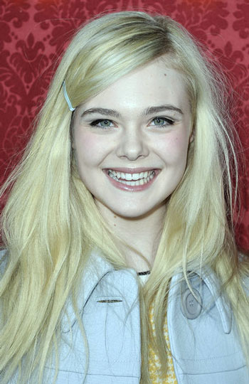 Elle Fanning's Hip Long Disheveled Hairstyle
