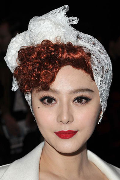 Fan Bingbing's Romantic Rockabilly Hairstyle