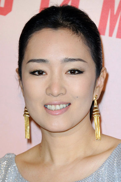 Gong Li's Simple and Sleek Bun for Formal and Casual Occasions