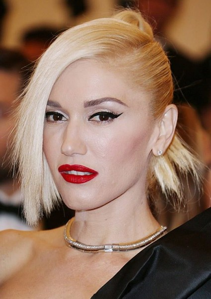 Gwen Stefani Unique Punk Updo At The 2013 Met Gala
