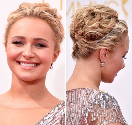 Hayden Panettiere's Updo At Emmy Awards 2014