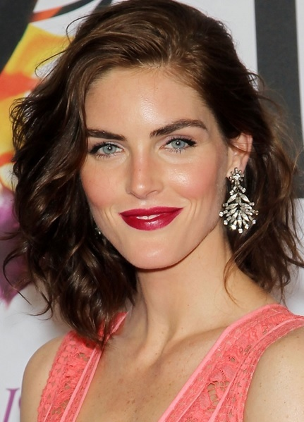 Hilary Rhoda's Wavy Bob At CFDA Fashion Awards 2014
