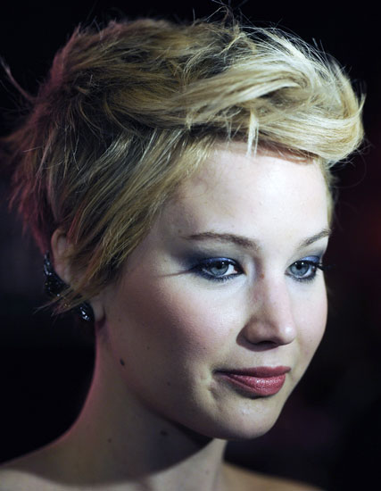 Jennifer Lawrence's Edgy Tousled Short Hairstyle