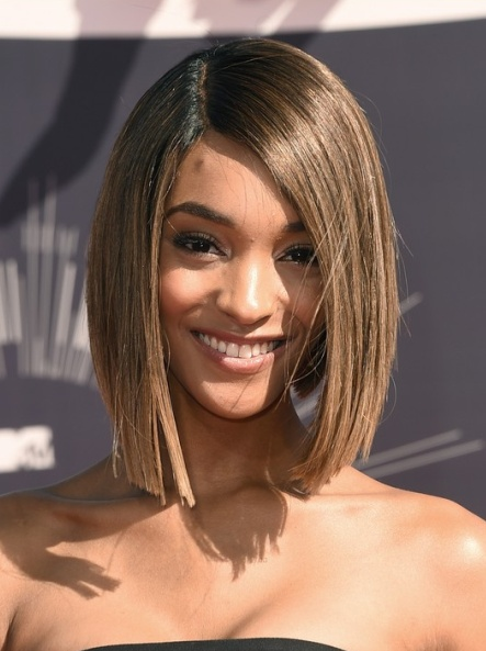 Jourdan Dunn's Asymmetrical Bob At VMA 2014