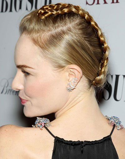 Kate Bosworth's Fantastic Faux Mohawk Braided Updo