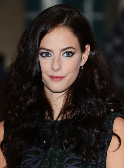 Kaya Scodelario's Long Curly Hairstyle