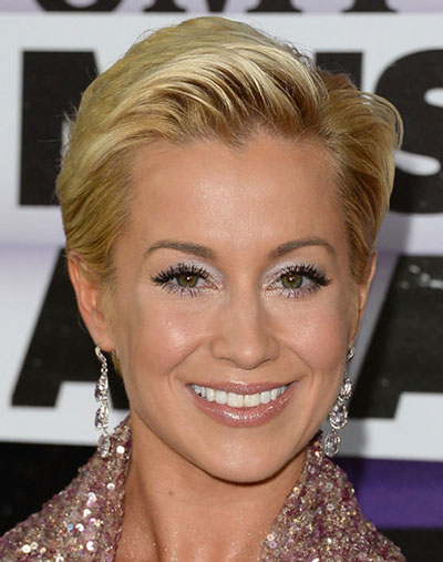 Kellie Picklers Short Hairstyle Casual Evening Summer Spring
