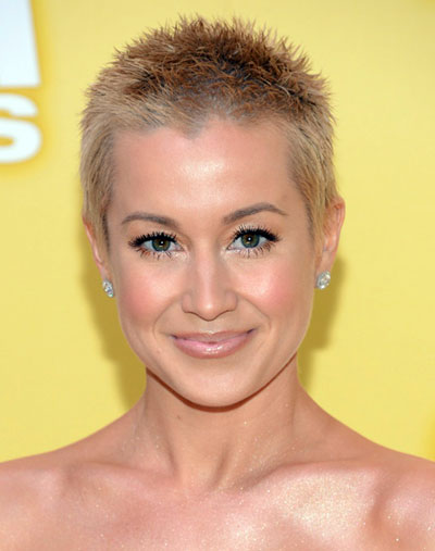 Kellie Pickler's Fierce Short Spiky Hairstyle