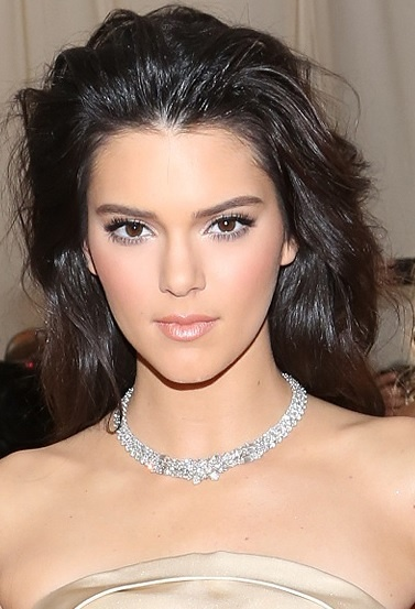 Kendall Jenner's Long Bouffant Hairstyle At Met Ball 2014