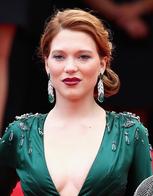 Lea Seydoux's Side Chignon At Cannes Film Festival 2014