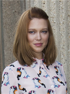 Lea Seydoux's Side Parted Bob At Paris Fashion Week 2014
