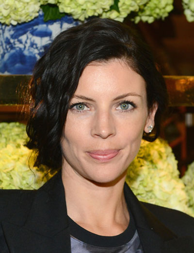 Liberty Ross' Cool Curly Faux Bob Hairstyle