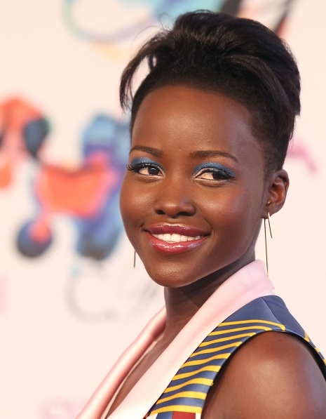 Lupita Nyong'o's Quiff At CFDA Fashion Awards 2014