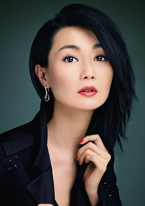 Maggie Cheung S Choppy Side Swept Hairstyle Party