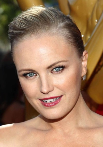 Malin Akerman's Simple Sleek Updo at the 2013 Primetime Emmy Awards