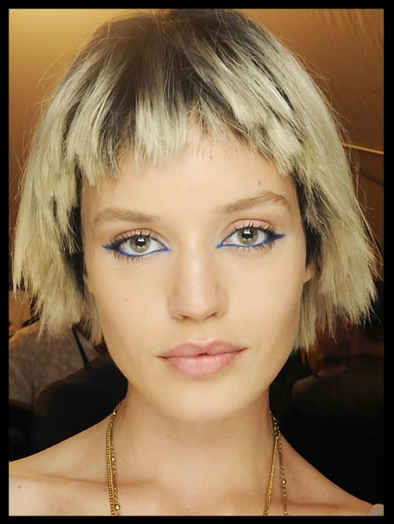 Marc Jacobs Runway Wigs: Dry Hair