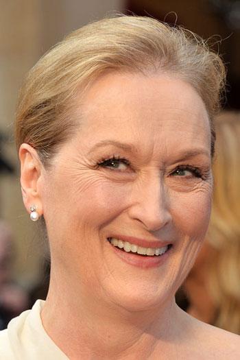 Meryl Streep's Classy Updo at the 2014 Oscars