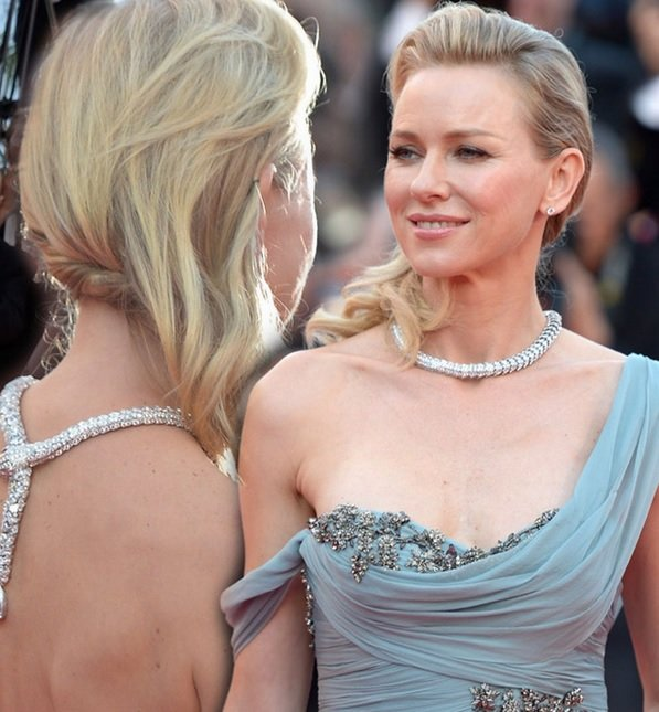 Naomi Watts' Side Swept 'Do At Cannes 2014