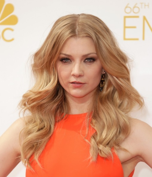 Natalie Dormer's Mega Curls At Emmy Awards 2014