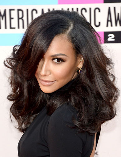 Naya Rivera's Sexy Curly Big Hair at the 2013 American Music Awards