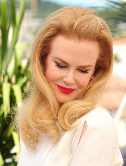 Nicole Kidman's Retro Hairstyle At Cannes Film Festival 2014