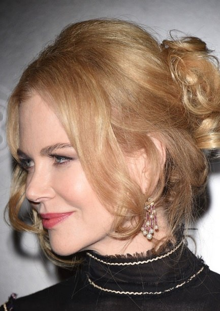 Nicole Kidman's Updo At Agon Channel Launch Party