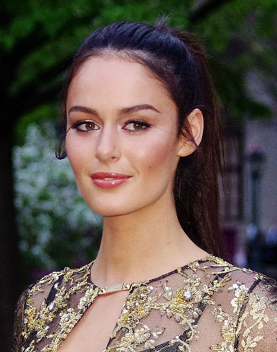 Nicole Trunfio's Playful High Ponytail Hairstyle