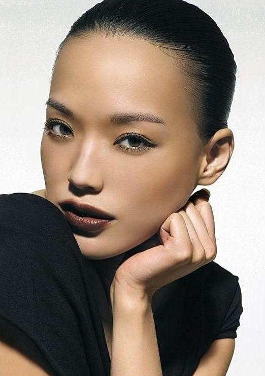 Shu Qi's Sophisticated Simple Sleek Bun Hairstyle