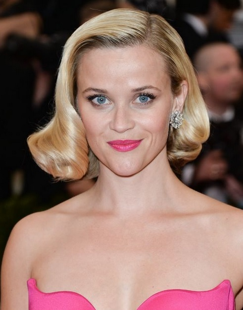 Reese Witherspoon's Vintage Glam Style At Met Ball 2014