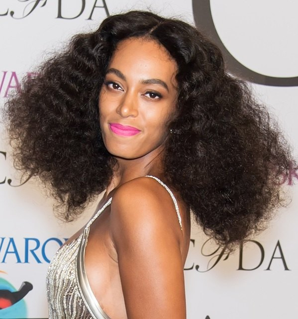 Solange Knowles' Retro Teased Curls At CFDA 2014