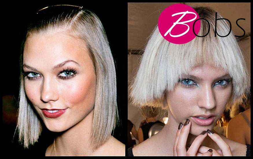 Trendy bobs hairstyles for spring 2014