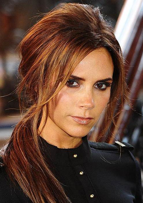 Victoria Beckham's Messy Side Ponytail That Creates A Casual Vibe