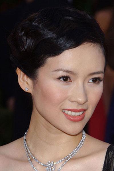 Zhang Ziyi's Glamorous Retro Finger Wave Hairstyle