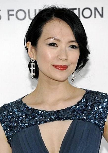 Zhang Ziyi's Elegant Low Chignon Hairstyle