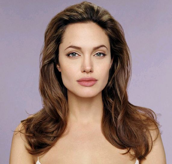 Angelina Jolie's Long Brown Hair In Loose Wavy Hairstyle