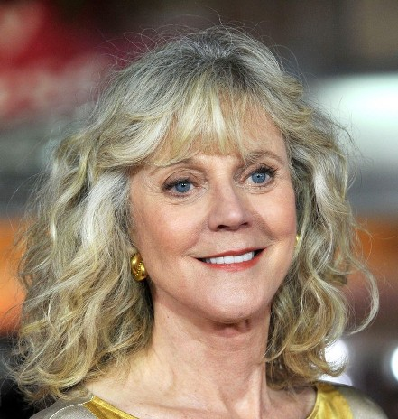 Blythe Danner Mature Curly Hairstyle Casual Party