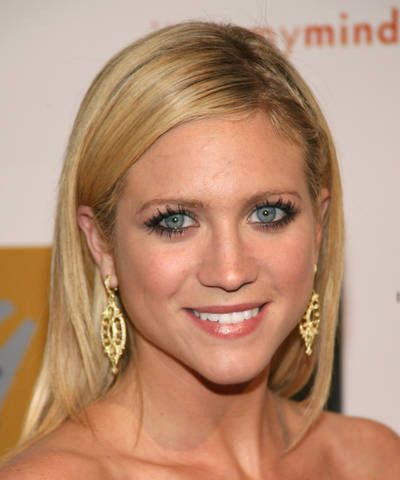 Brittany Snow's Long Blonde Hair In Sleek Straight Hairstyle