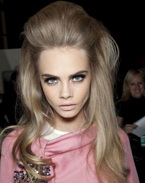 Cara Delevingne Bouffant Hairstyle Party Careforhair Co Uk