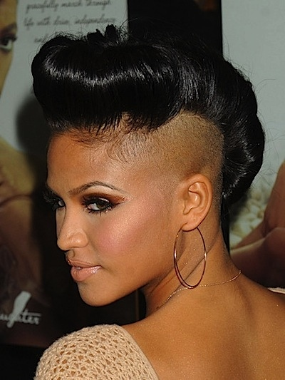 Confident hairstyles haircuts hairdos page 3 of 11 cassie venturas edgy pompadour updo winobraniefo Choice Image