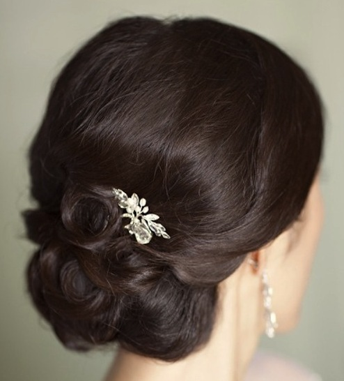 Wedding Hairstyles Dark Hair: Prom, Wedding, Party, Formal