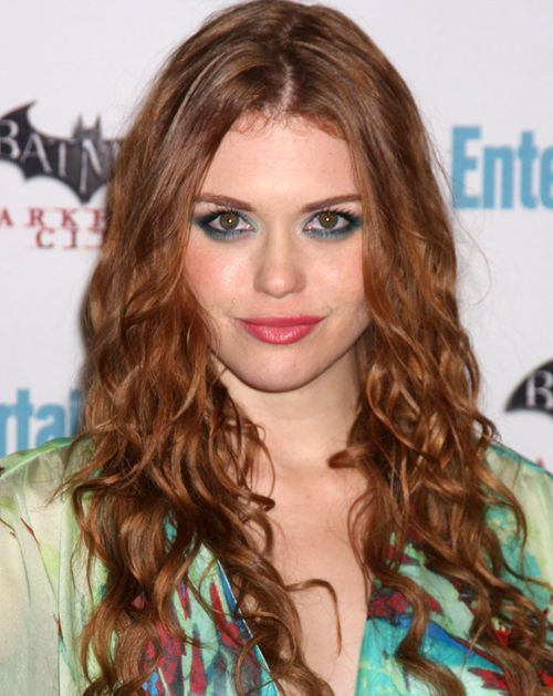 Awe Inspiring Holland Roden Long Curly Hairstyle Casual Everyday Party Short Hairstyles Gunalazisus